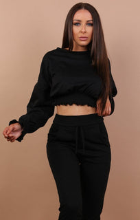 Black-cropped-frill-jumper-Natasha