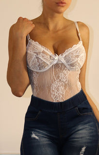 White-Floral-Lace-Bodysuit