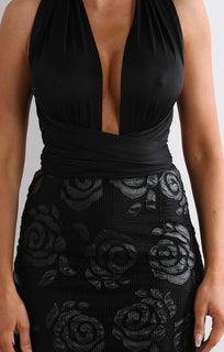 black-embossed-multi-way-dress-lillie