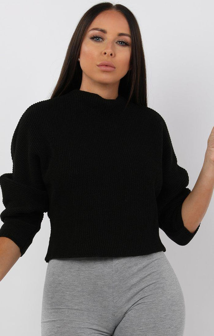 Black-Batwing-Cropped-Jumper-Tatum