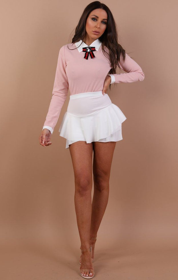 Pink-bow-tie-long-sleeve-bodysuit-Tamsin