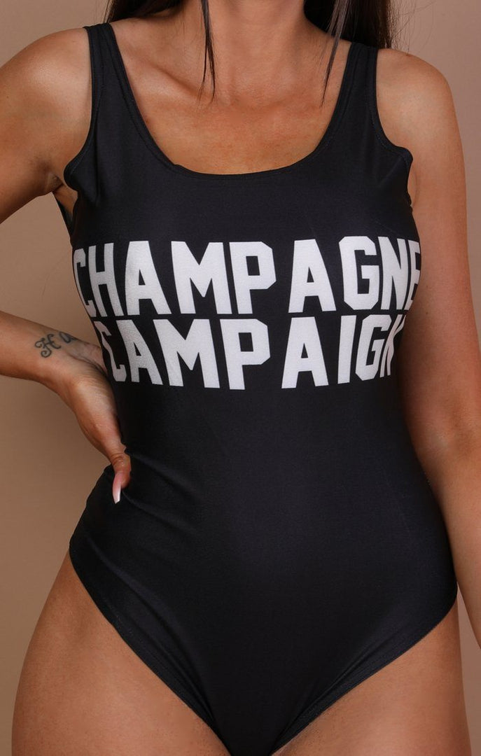Black-'Champagne-Campaign'-Swimsuit