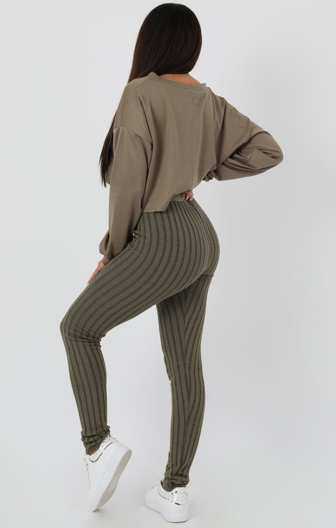 Khaki-Ribbed-Knit-Leggins-Amara