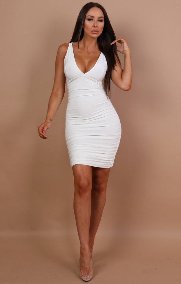 white-ruched-bodycon-mini-dress-amara