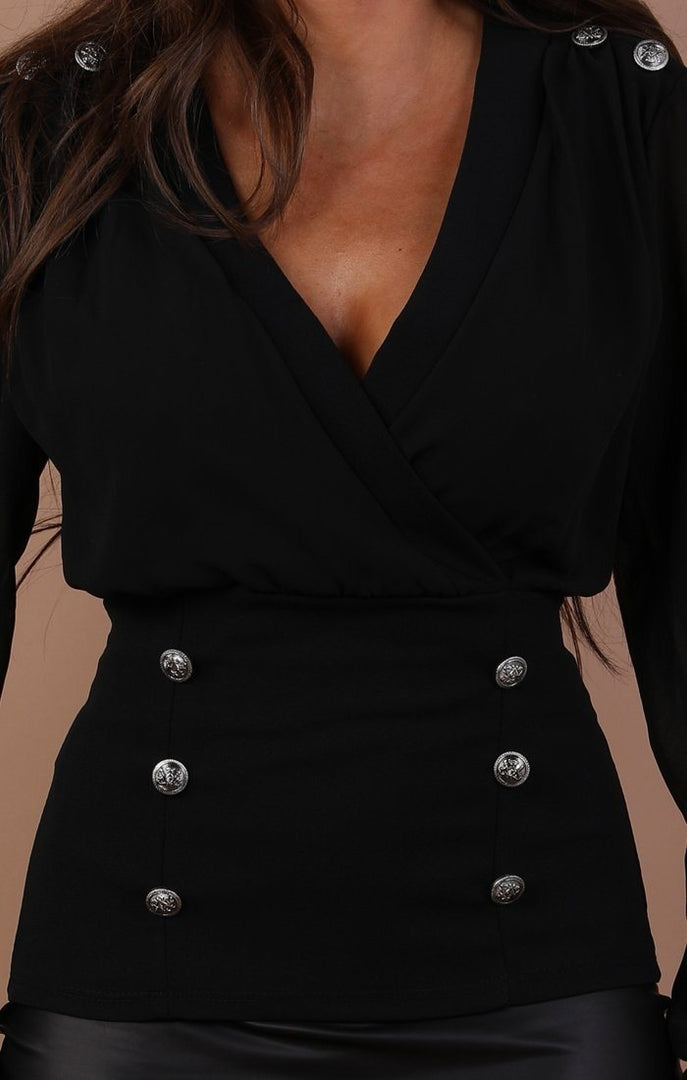 Black-plunge-button-embellished-blouse-aisha