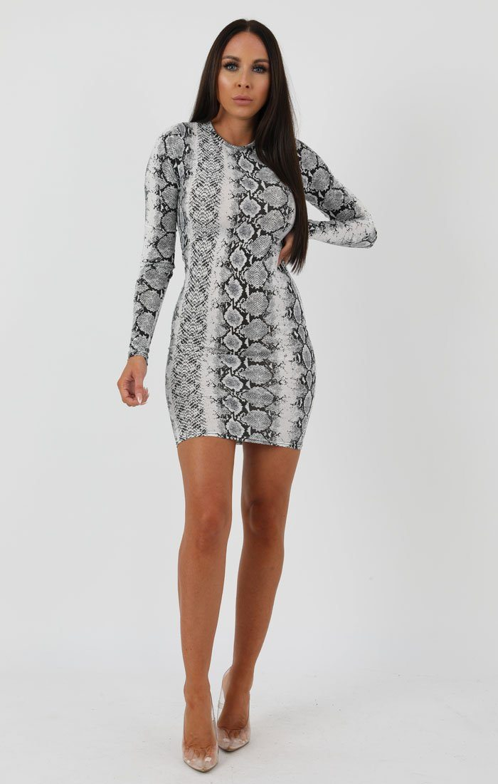 Animal-Snake-Print-Long-Sleeve-Bodycon-Dress-Michelle