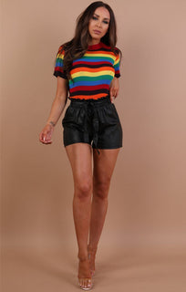 Black-Paperbag-Faux-Leather-Shorts-Ferne