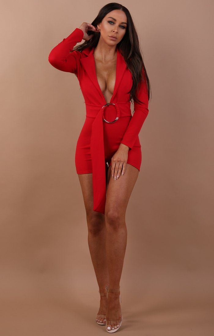 Red-plunge-ring-front-playsuit-marley