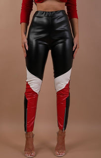 Black-and-white-panel-biker-trousers–Eden