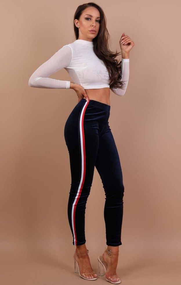 Navy-velvet-striped-joggers-becky