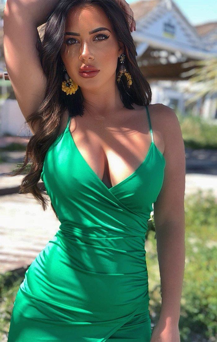 Green-wrap-effect-bodycon-dress-gemma