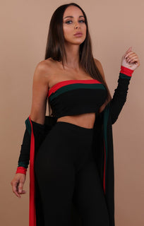 Black-Red-And-Green-Three-Piece-Set-Kimberly