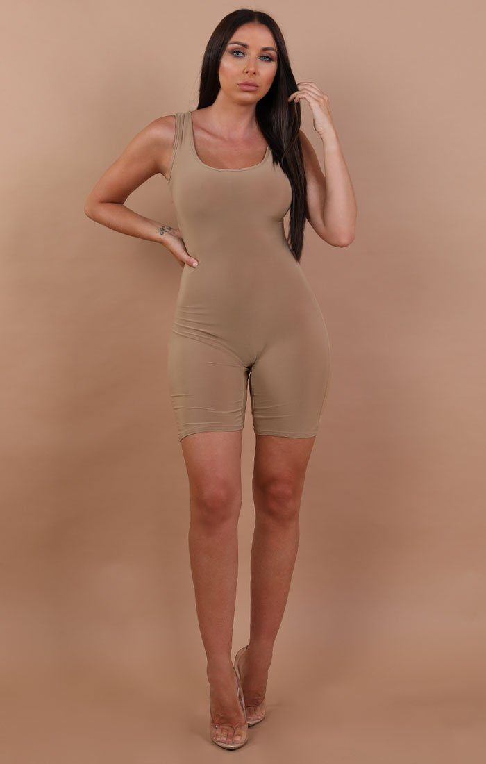 Beige-Basic-Sleeveless-Playsuit-Faith