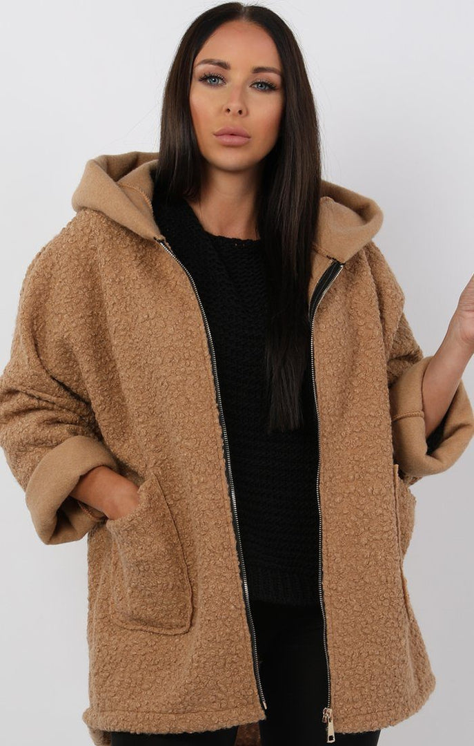 Beige-Oversized-Hooded-Teddy-Jacket-Katrina