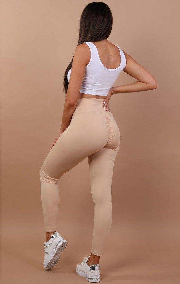 Beige-Ruched-Back-Leggings-Kathy