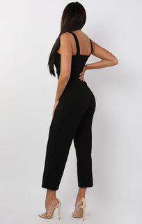 Black-Button-Detail-Belted-Jumpsuit-Echo