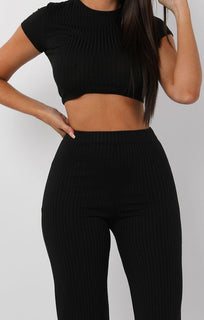 Black-Crop-Ribbed-Two-Piece-Set-Suzi