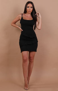 Black-Frill-Mini-Bodycon-Dress-Kelly