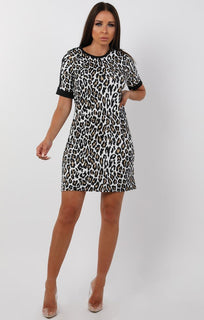 Black-Leopard-Print-Oversized-T-Shirt-Dress-Karris