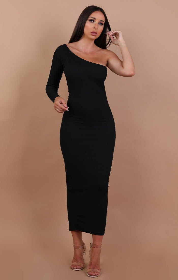 Black-One-Shoulder-Maxi-Dress-Opal