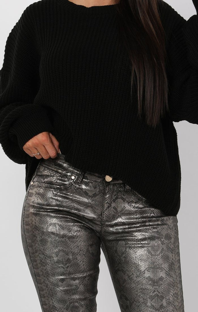 Black-Oversized-Crop-Jumper-Shaunie