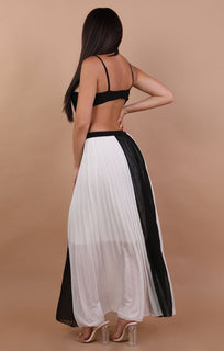 Black-and-White-Open-Back-Mesh-Maxi-Dress-Connie