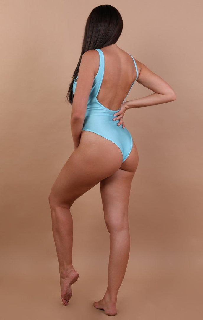 Blue 'Mermaid' Swimsuit - Anna