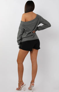 Charcoal-Knitted-Off-Shoulder-Jumper-Maria