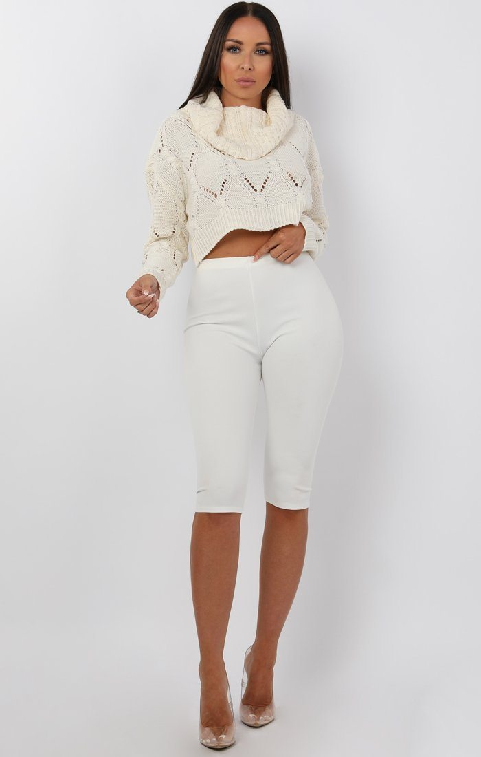 Cream-Cowl-Neck-Knitted-Crop-Jumper-Gemma