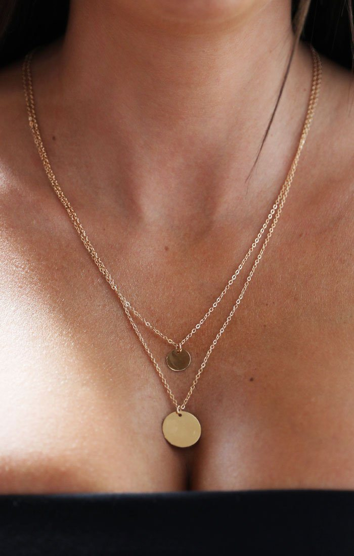 Gold-Double-Layered-Disc-Detail-Necklace-Jess