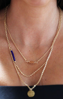 Gold-Triple-Layered-Jeweled-Pendant-Necklace-Sarah