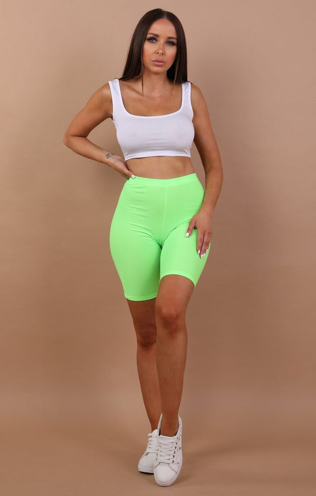 Green-Neon-Cropped-Short-Leggings-Kim