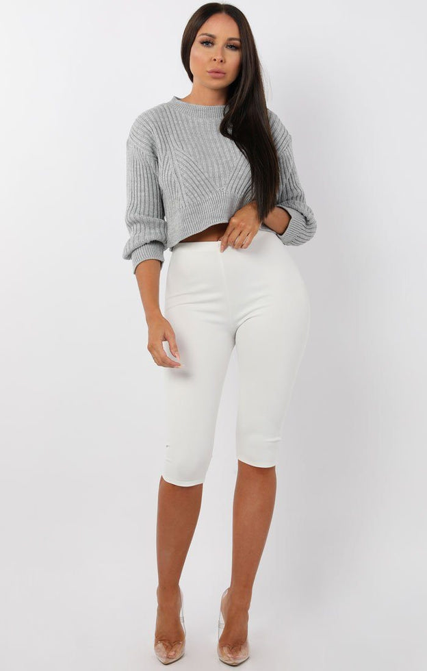 Grey-Cable-Knit-Cropped-Jumper-Ivy