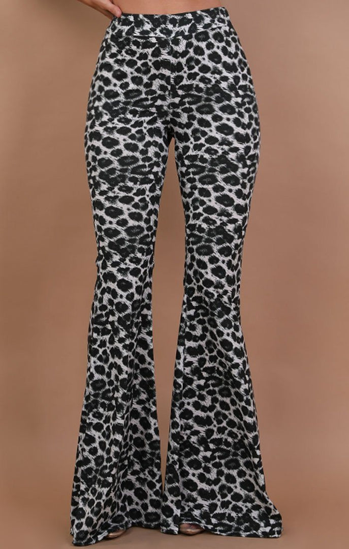 Grey-High-Waisted-Leopard-Print-Flared-Trousers-Olivia