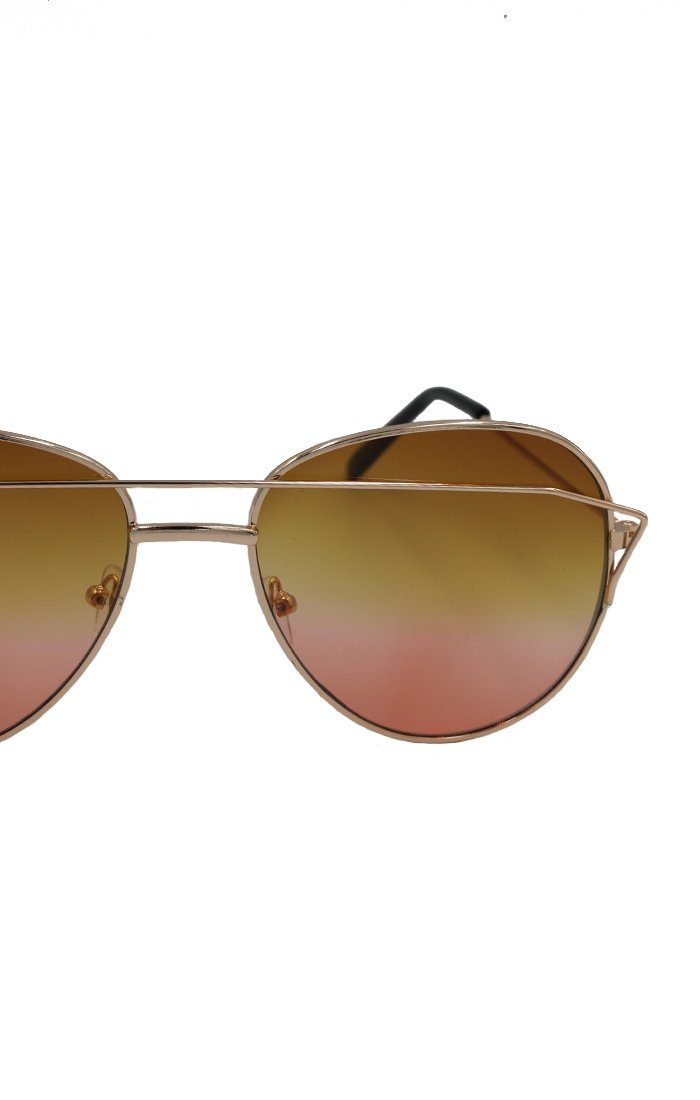 Pink Aviator Sunglasses - Fifi