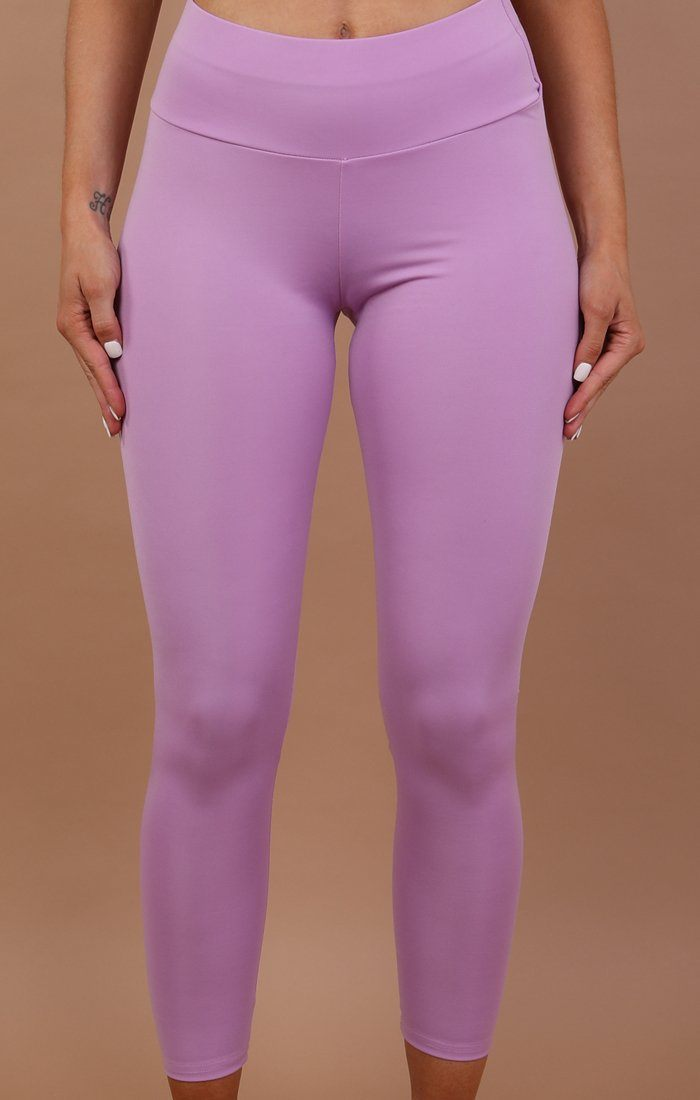 Lilac Ruched Back Leggings - Kathy