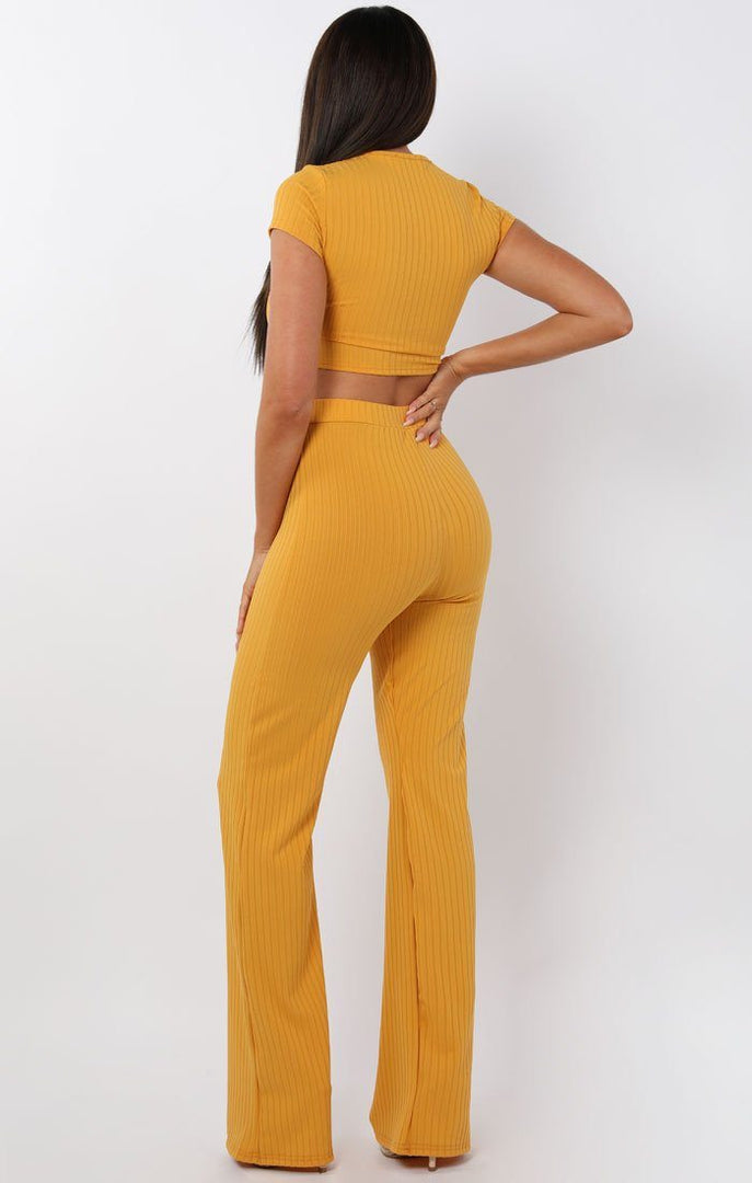 Mustard-Crop-Ribbed-Two-Piece-Set-Suzi