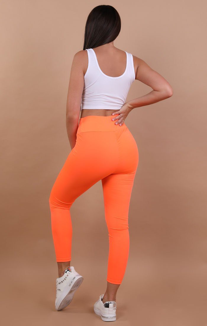 Orange-Ruched-Back-Leggings-Kathy