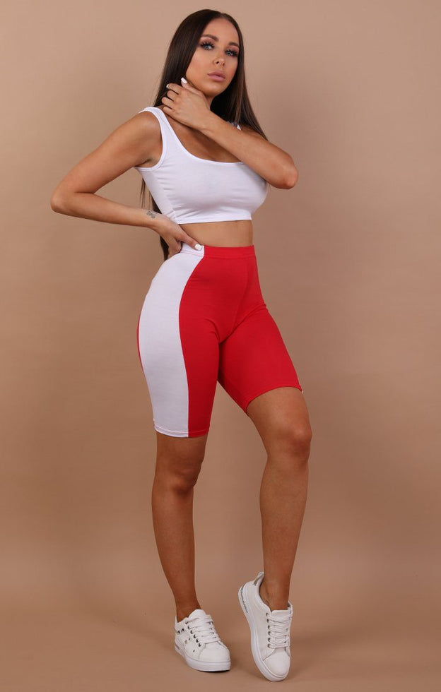 Red-White-Panel-Cropped-Leggings-Esme