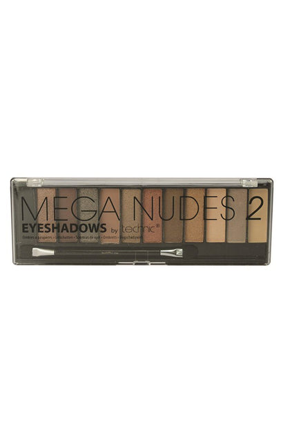 Technic Mega Nude 2 Eyeshadow Set 12