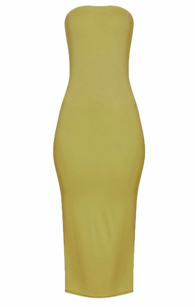Lime-Bandeau-Bodycon-Midi-Dress-Ariana