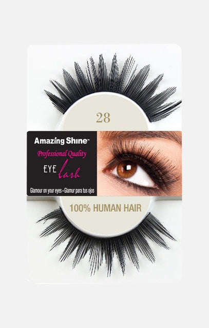 100% Human Hair lashes 28