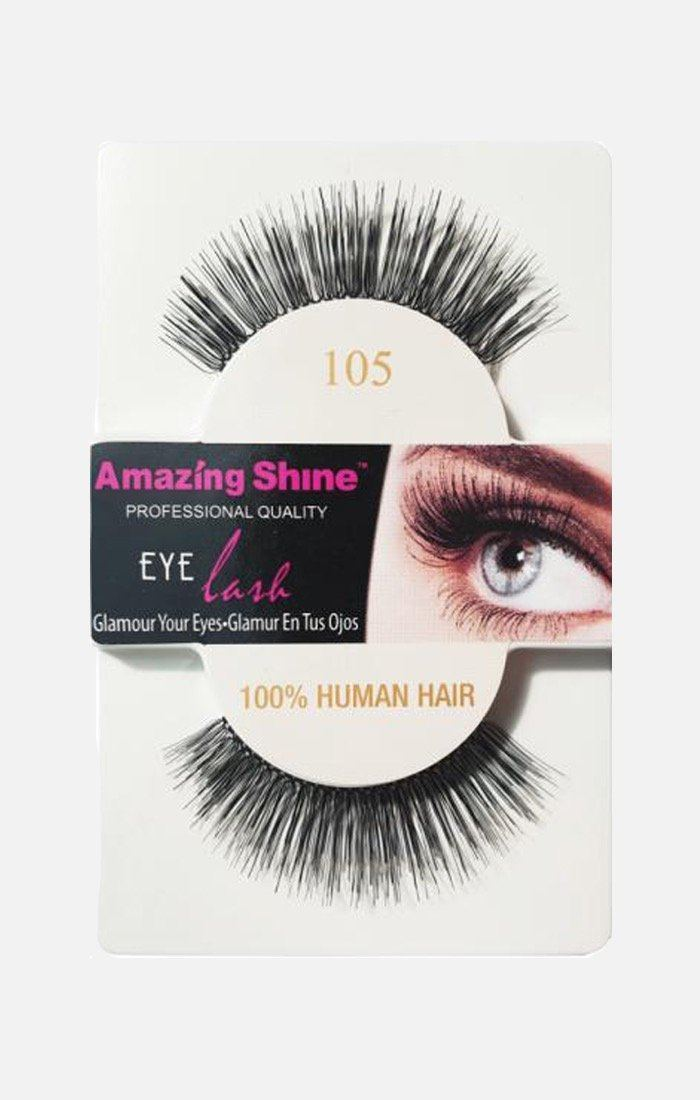 100% Human Hair Eyelashes 105