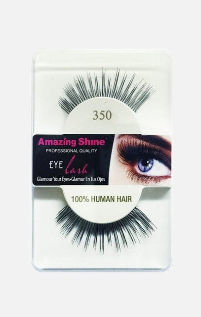 100% Human Hair Eyelashes 350
