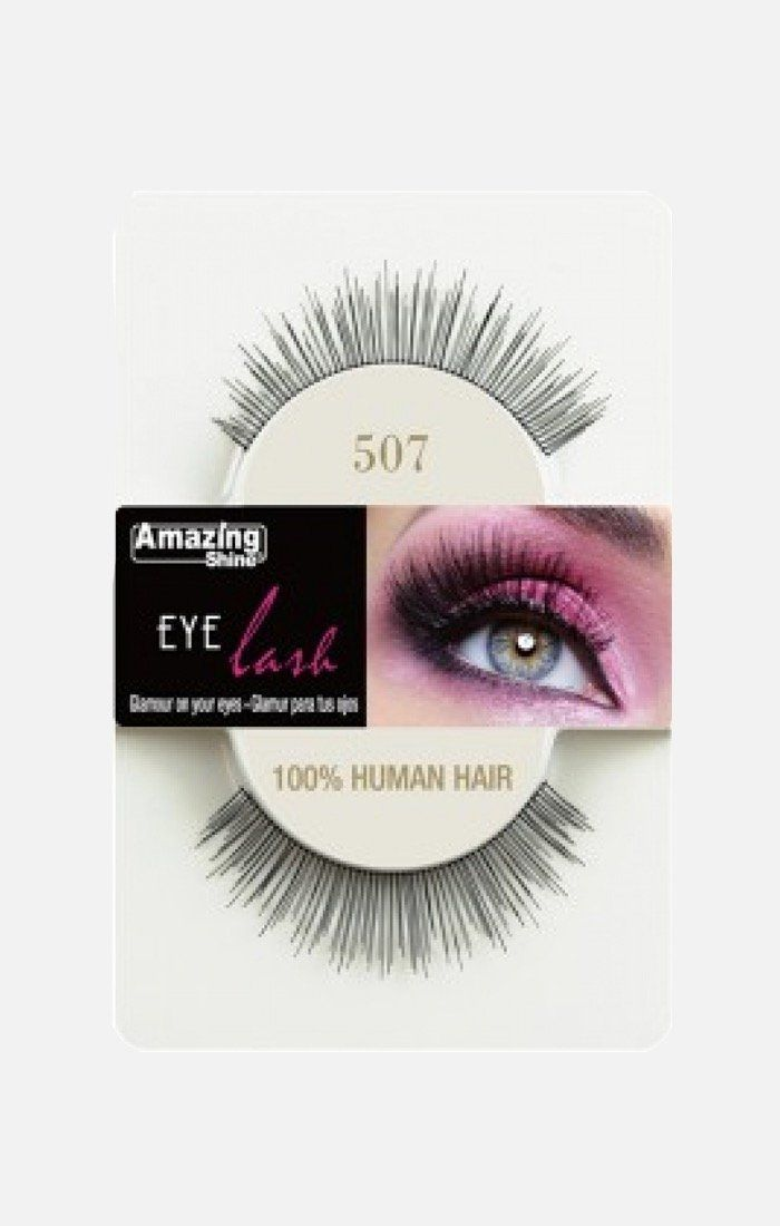 100% Human Hair lashes 507