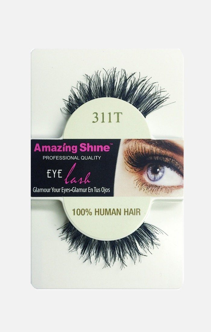 100% Human Hair lashes 311T