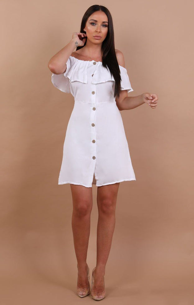 White-Barbot-Button-Up-Tea-Dress-Rebecca