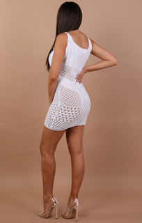 White-Crochet-Mini-Dress-Elle