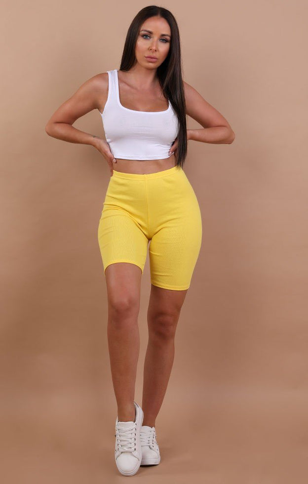 Yellow-cropped-basic-leggings-Roxanne
