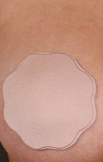 Nude Fabric Adhesive Nipple Cover